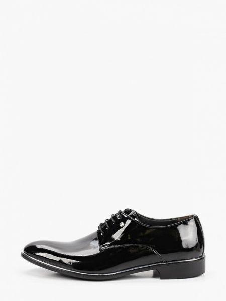 Туфли черные лаковые Tamboga