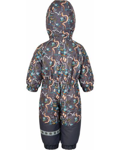Зимний комбинезон флисовый с капюшоном Lappi Kids