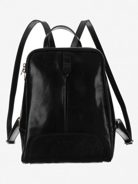 Czarny plecak skórzany Renee