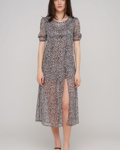 Приталенное платье с разрезом Anna Yakovenko