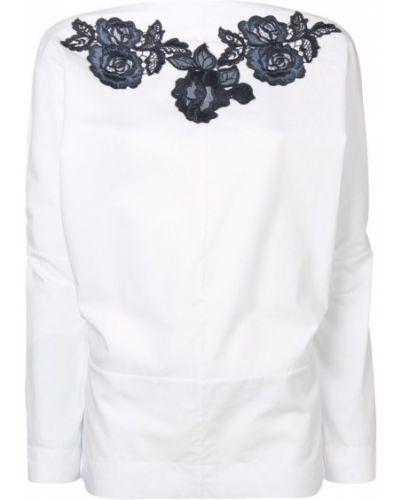 Блузка с длинным рукавом с V-образным вырезом свободного кроя Antonio Marras