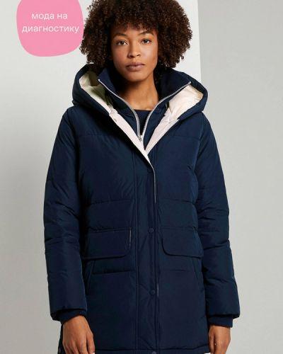 Теплая синяя куртка Tom Tailor