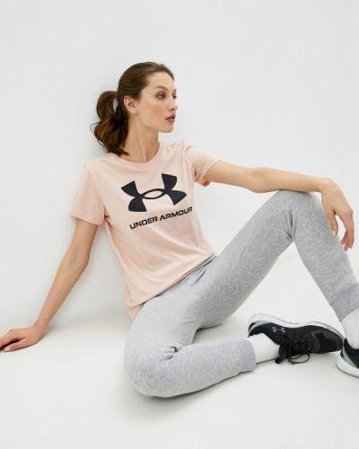 Розовая футболка Under Armour