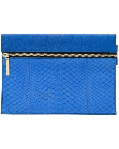 Niebieska kopertówka Victoria Beckham Vintage