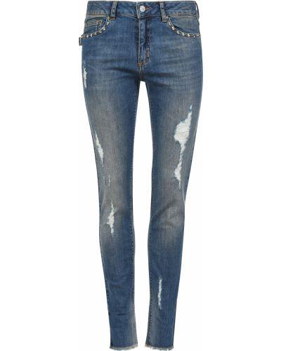 Хлопковые джинсы - синие Zadig & Voltaire
