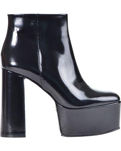 Ботинки на платформе осенние кожаные Giorgio Fabiani