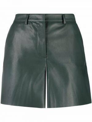 Zielone spodnie z wysokim stanem Blanca Vita