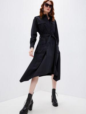 Черное платье-рубашка Iceberg