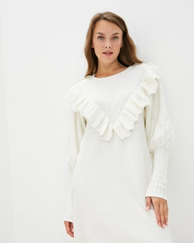 Вязаное платье - бежевое Silvian Heach