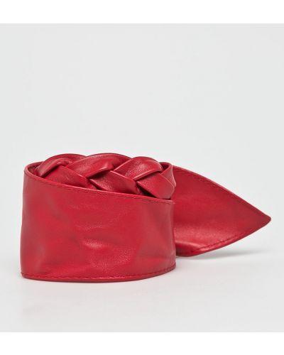 Красный ремень кожаный Answear