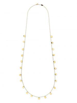 Золотистое ожерелье золотое Ippolita