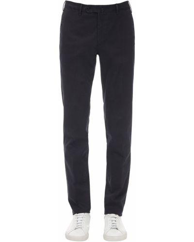 Spodnie bawełniane z paskiem Pantaloni Torino