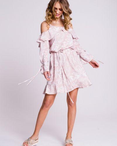 Свободное платье мини свободного кроя Naoko