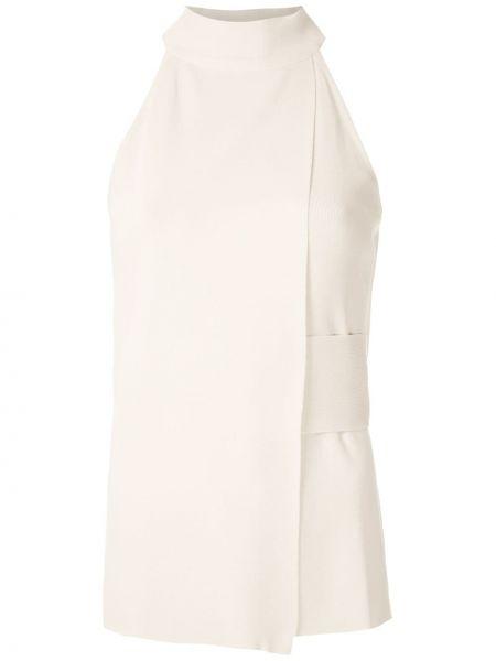 С ремешком блузка без рукавов с воротником узкого кроя из вискозы Egrey