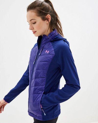 Спортивная куртка осенняя синий Under Armour