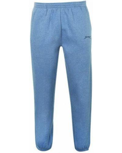 Флисовые спортивные брюки - синие Slazenger