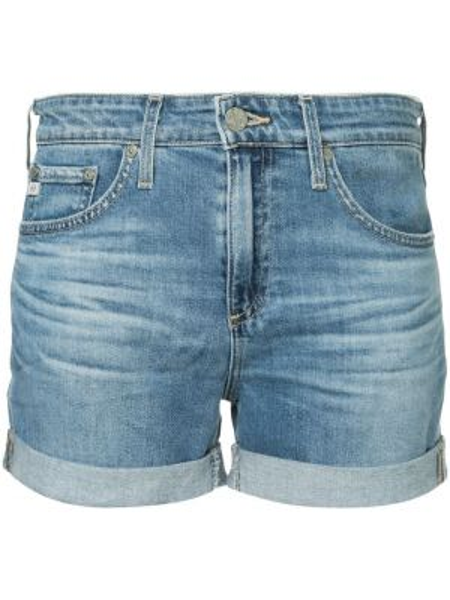 Джинсы с манжетами с низкой посадкой Ag Jeans