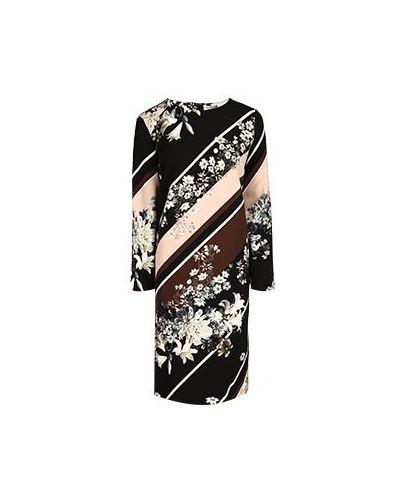 Платье для офиса - розовое Elisa Fanti
