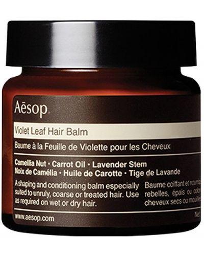 Bezpłatne cięcie skórzany zielony balsam do włosów bezpłatne cięcie Aesop