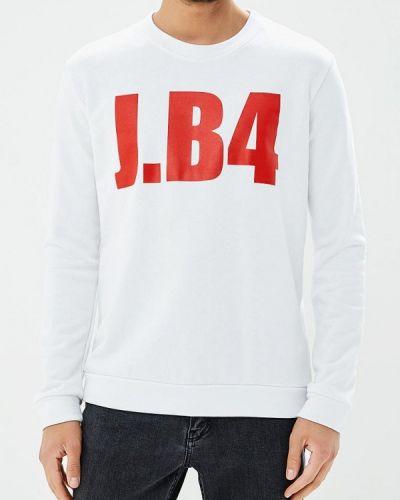 Белая толстовка J.b4