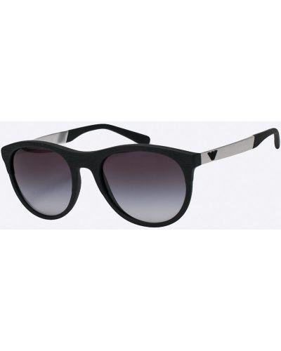 Солнцезащитные очки металлические стеклянные Emporio Armani