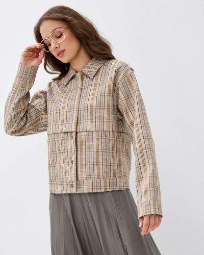 Облегченная коричневая куртка On Parle De Vous