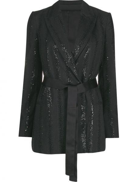 Куртка черная с карманами Brunello Cucinelli