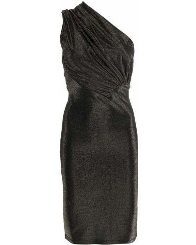 Brokatowa sukienka - czarna Rick Owens