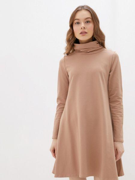 Платье прямое бежевое Numinou
