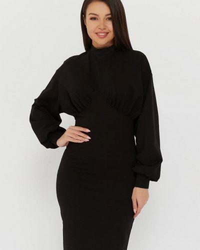 Прямое черное платье Lmp