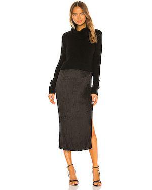 Платье миди платье-комбинация на бретелях Allsaints
