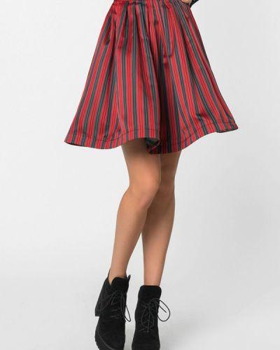 Красная юбка свободного кроя A'tani