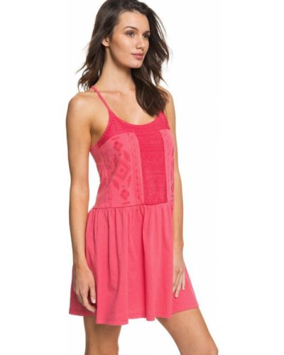 Розовое пляжное платье Roxy