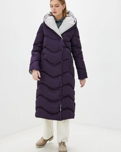 Фиолетовая утепленная куртка Doctor E