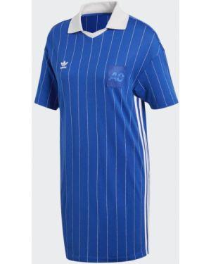 Платье в полоску спортивное Adidas