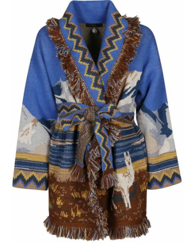 Niebieski sweter Alanui