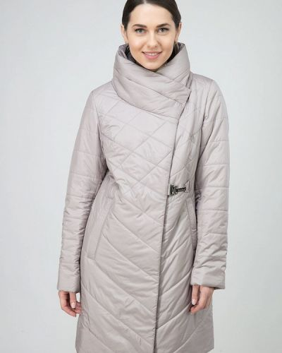 Бежевая утепленная куртка Ostrich