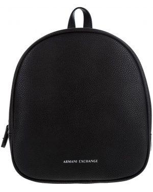Рюкзак на молнии черный Armani Exchange