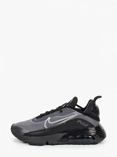 Текстильные черные кроссовки Nike