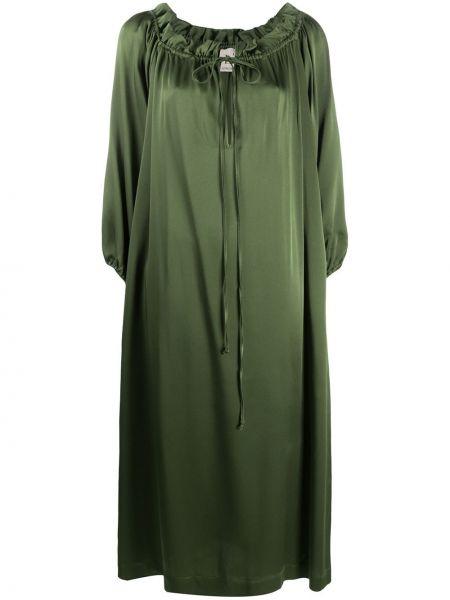 Платье миди макси с рукавами Lautre Chose