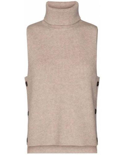 Beżowa kamizelka bez rękawów Co'couture