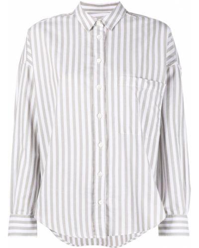 С рукавами классическая рубашка в полоску с воротником Closed