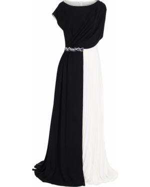 Вечернее платье в пол - черное Vionnet