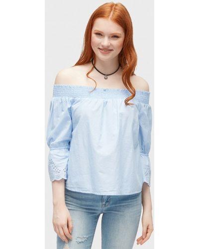 Блузка с открытыми плечами Tom Tailor Denim