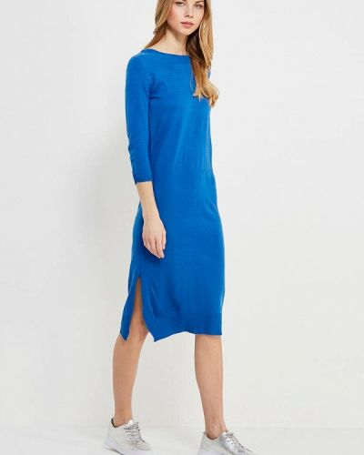 Синее платье весеннее Bruebeck