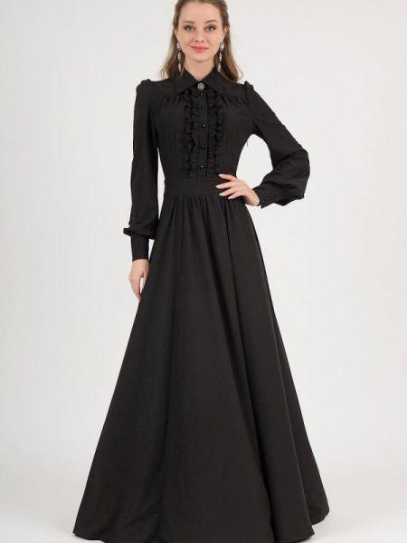 Повседневное платье черное весеннее Marichuell