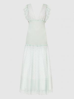 Платье макси - зеленое Philosophy Di Lorenzo Serafini