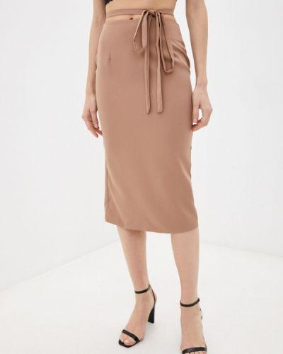 Прямая юбка - бежевая Goldrai