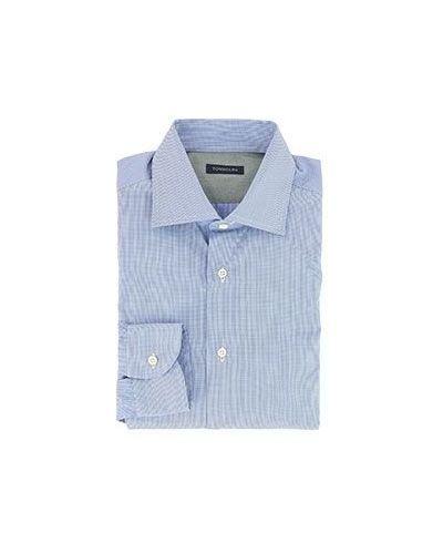 Хлопковая классическая рубашка Tombolini