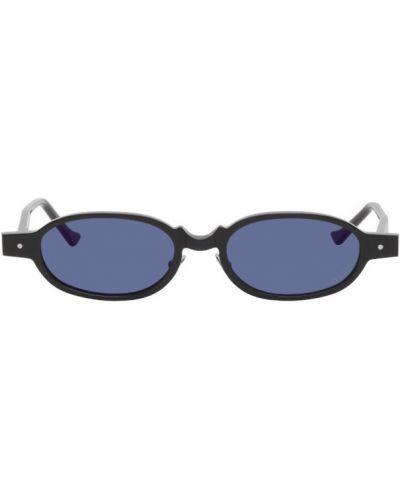 Czarne okulary srebrne Grey Ant